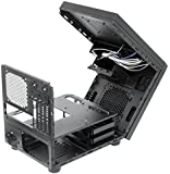 Chieftec CI-01B-OP Carcasa de Ordenador Cubo Negro - Caja de Ordenador (Cubo, PC, SECC, Micro-ATX, Negro, 0,5 mm)
