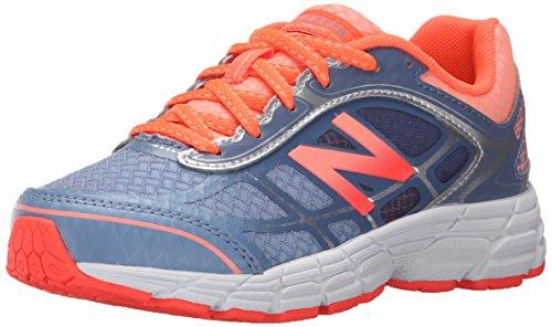 New Balance KJ860 Youth Running Shoe (Little Kid/Big Kid), Grey/Orange, 1 M US Little Kid Grey/Orange