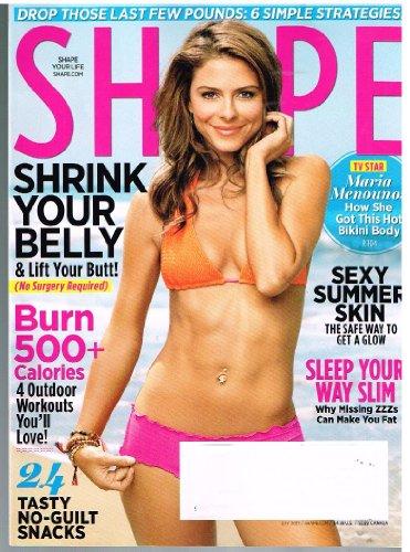 SHAPE Magazine (July 2012) TV Star: Maria Menounos' Bikini Body