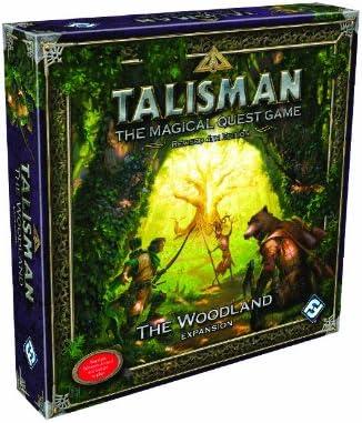 Fantasy Flight Games Talisman The Magical Quest Juego: La Expansión Woodlands: Amazon.es: Juguetes y juegos