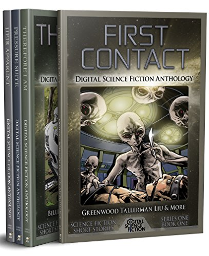 Digital Science Fiction - Series One Anthology Bundle: 40 Incredible Science Fiction Stories (Digital Science Fiction Anthology Collection Book (Robot Science Fiction)