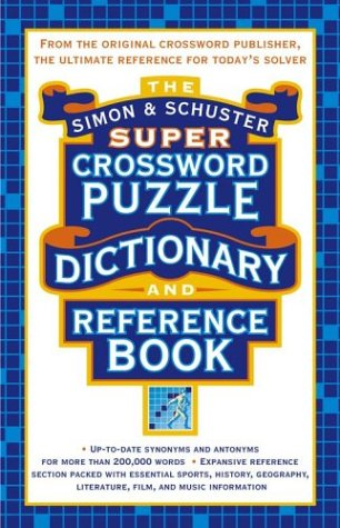 The Simon & Schuster Super Crossword Puzzle Dictionary and Reference Book (Synonym For Merchandise)