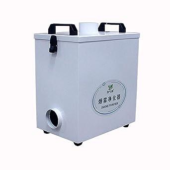 Purificador de humo extractor de aire puro de cuatro etapas para máquina de corte de grabado láser Co2: Amazon.es: Industria, empresas y ciencia