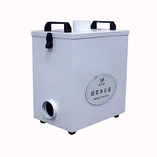 Purificador de humo extractor de aire puro de cuatro etapas para ...
