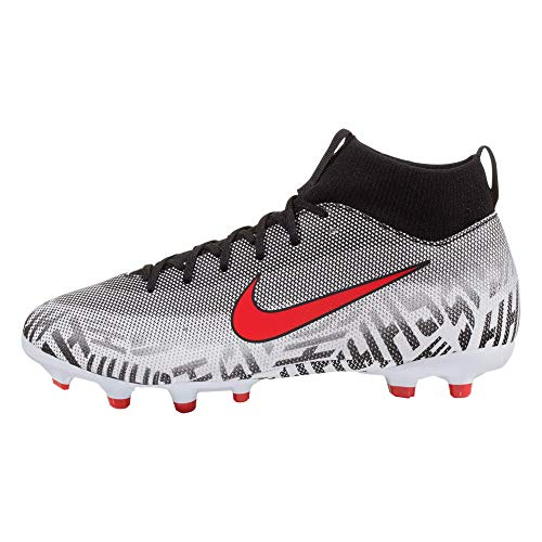 best website 443fd fd38d Nike Youth Superfly 6 Academy NJR FG/MG Soccer Cleats-White/Challenge Red