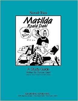9781553194491: matilda novel study guide gr. 3-4 classroom.
