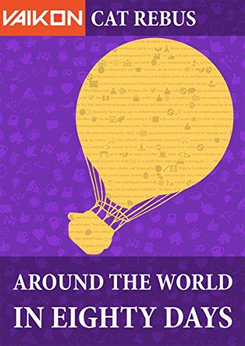 Vaikon Cat Rebus: Around the World in 80 Days (English Edition)