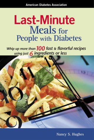 Download Last Minute Meals for People with Diabetes PDF