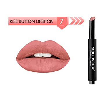 af225bcdeec5d Amazon.com : Binmer NORTHSHOW Lipstick Matte Press Moisturizing ...