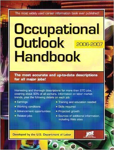 Occupational Outlook Handbook (Occupational Outlook Handbook (Jist Works))