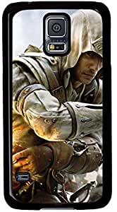 Assassins Creed III Game Cases for Samsung Galaxy S5 I9600 with Black Skin