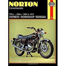 Norton Commando Owners Workshop Manual, No. 125: '68-'77