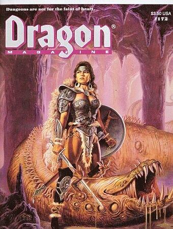 Dragon Magazine, No 172 (Monthly Magazine)