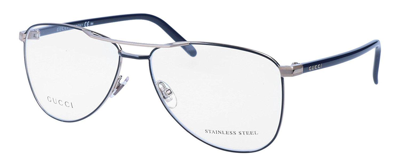 Gucci Womens GG 4218 Blue - Eyeglasses lenses 55 mm