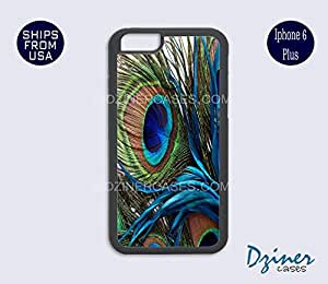 iPhone 6 Plus Case - Peacock Feather iPhone Cover