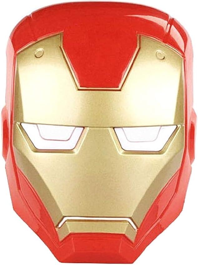 Máscara Iron Man – Adultos – Niños – Disfraz – Carnaval ...
