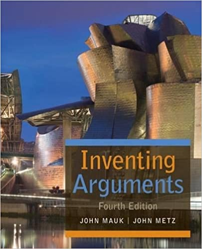 Inventing Arguments (Inventing Arguments Series) Free Download