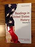 img - for Readings in U.S History, Vol.1 book / textbook / text book