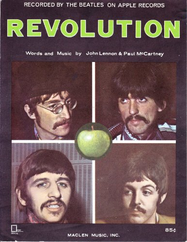 Original album cover of Revolution by The Beatles