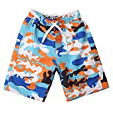 Wes and Willy Camo Swim Trunk