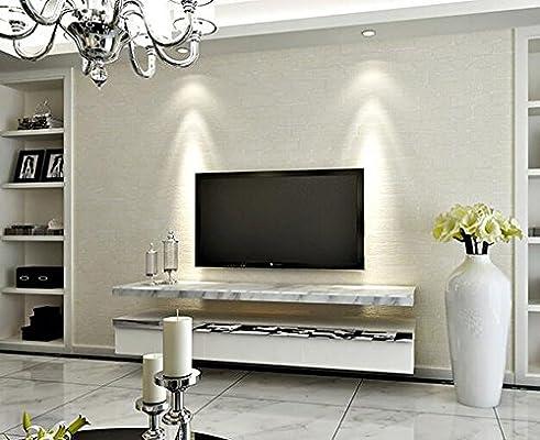 Simple Irregular Brick Wallpaper Vintage Non Woven Living Room