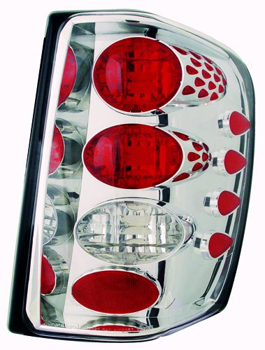 IPCW CWT-CE5002C Crystal Eyes Crystal Clear Tail Lamp - Pair