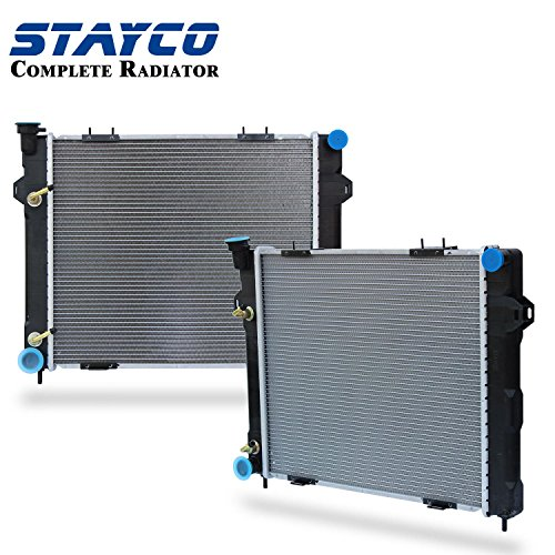 CU1396 Radiator Replacement for Jeep Grand Cherokee 1993 1994 1995 1996 1997 L6 4.0L ()
