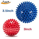 Product review for Pack of 2 Spiky Massage Balls - Plantar Fasciitis, Muscle Soreness Massager Ball