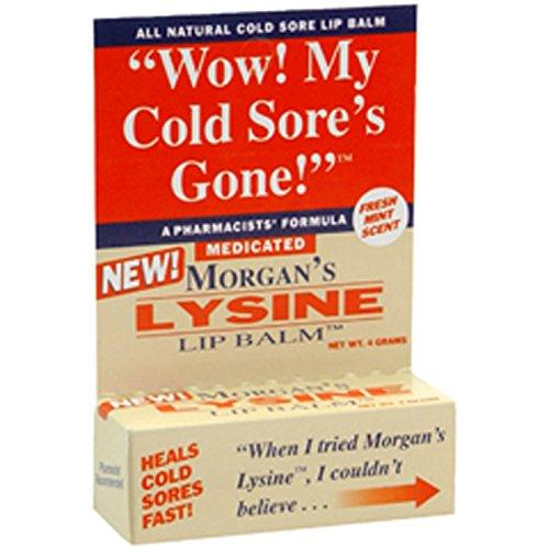 Morgans Morgans Lysine Baume médicamenté, 0,17 oz par Jubujub