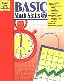 Basic Math Skills, Grade 5, Evan-Moor, 1557999384