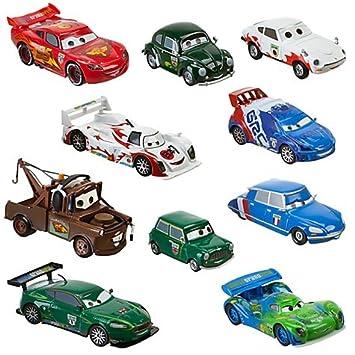 Die PcMétalDisneystore Car Cars Cast Prix Pixar Grand Crew Disney 48 Miniature Chief 1 Exclusive ExclusiveVéhicule World Racer Set10 gfb76vIYy