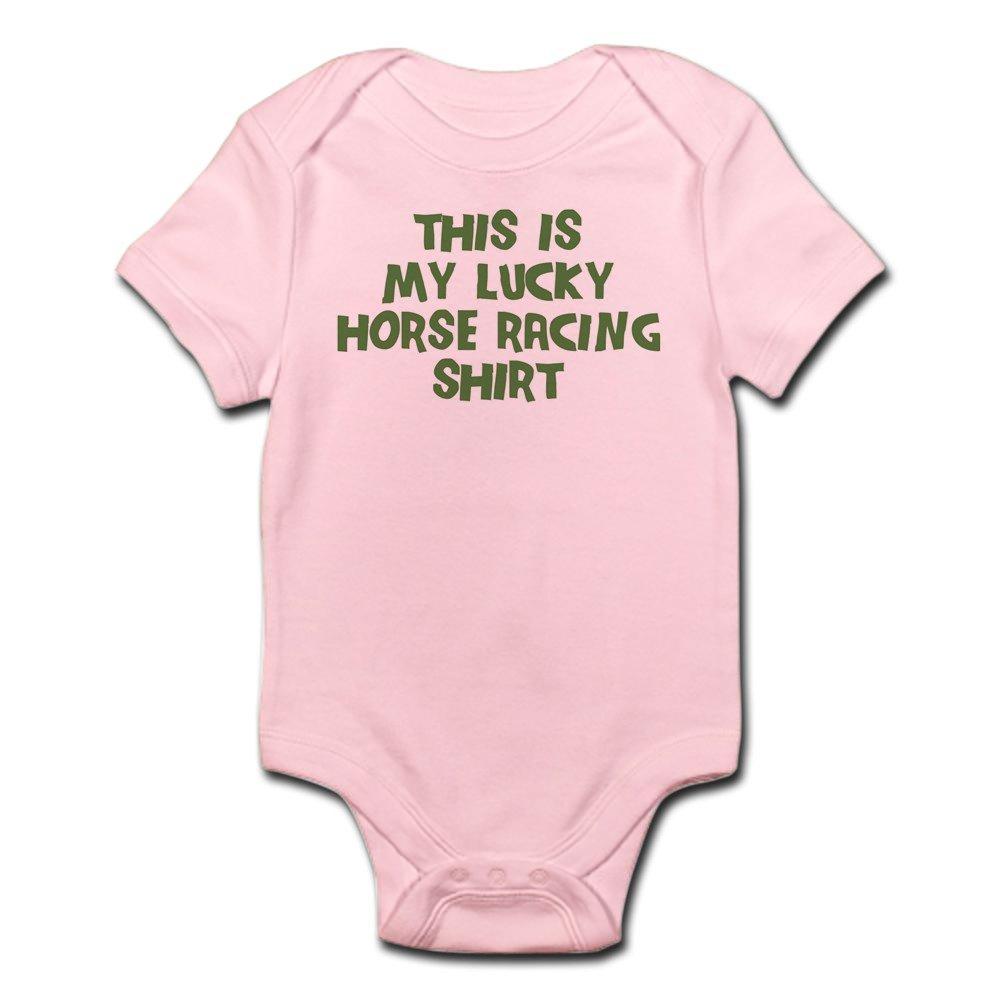 3cac0533 Amazon.com: CafePress Lucky Horse Racing Baby Bodysuit: Clothing
