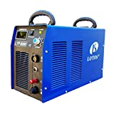 Lotos LTP8000 80Amp Non-Touch Pilot Arc Air Plasma Cutter, 1'' Inch Clean Cut