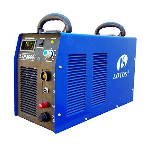 Lotos LTP8000 80Amp Non-Touch Pilot Arc Air Plasma...