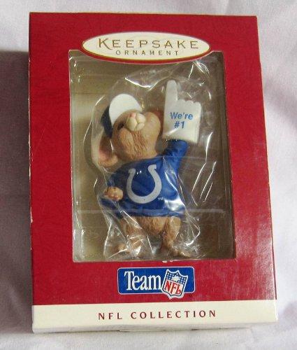 Hallmark Indianapolis Colts Team NFL Collection Keepsake Ornament - Indianapolis Hallmark