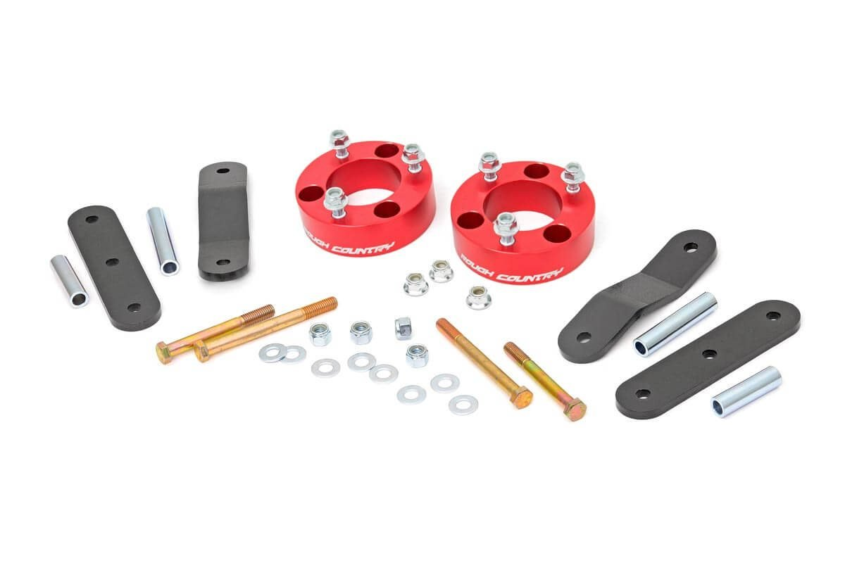 Rough Country 25 Inch Suspension Leveling Lift Kit For Xterra Fuel Filter Location Nissan 05 18 Frontier 4wd 2wd 15 Aluminum Automotive