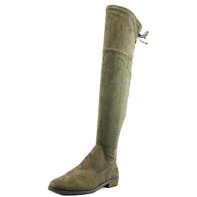 fb50757a325 Amazon.com  Vince Camuto Womens Crisintha Leather Almond Toe Over Knee  Fashion Boots  Shoes