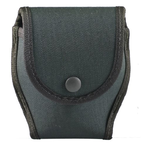 (Uncle Mike's 88782 Duty Cuff Case, Single Hinged Cuff Case with Flap, Kodra Black)