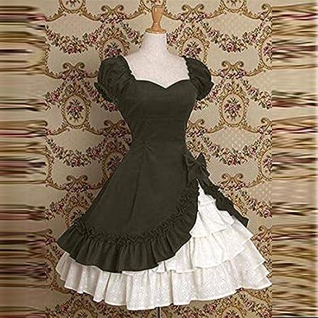 Lazapa Womens Vintage Red Lace Long Sleeve Wedding Party Evening Dinner Dress Large Hem Maxi Dresses