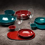 Zak Designs 2281-B100 Confetti Pasta Dishes, Bowl