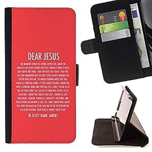 Momo Phone Case / Flip Funda de Cuero Case Cover - BIBLIA Querido Jesús; - Samsung Galaxy S4 Mini i9190