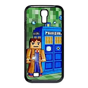 Custom Cover Case with Hard Shell Protection for SamSung Galaxy S4 I9500 case with Police Box lxa#900072 by runtopwell