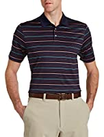 Cutter & Buck Big & Tall Helios Mercerized Stripe Polo