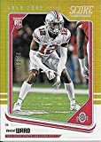 2018 Panini Score Gold Zone Rookie #332 Denzel Ward #34/50 OHIO STATE