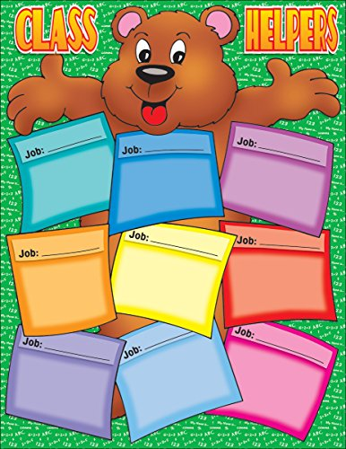 Helping Hands Pocket Chart - Scholastic Bear Helper Chart (TF2174)