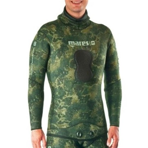 Mares Pure Instinct 5mm Jacket, Green Camo, S4 Medium/Large