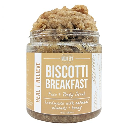 Biscotti Breakfast Face & Body Scrub by Mojo Spa