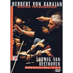 Karajan : Ludwig Van Beethoven - Symphonies N° 4 & 5 - DVD
