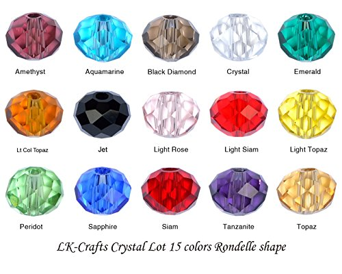 4mm crystal beads - 5