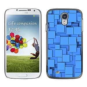 X-ray Impreso colorido protector duro espalda Funda piel de Shell para SAMSUNG Galaxy S4 IV / i9500 / i9515 / i9505G / SGH-i337 - Polygon Pattern Shapes Baby Clean